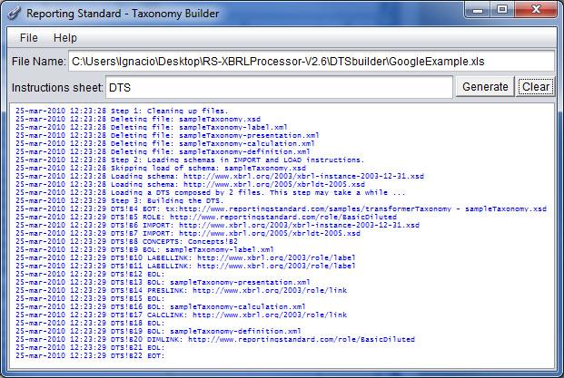 Compilador de Excel a XBRL